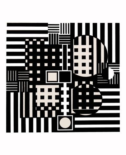 Jerusa, Album Croisées, Vasarely