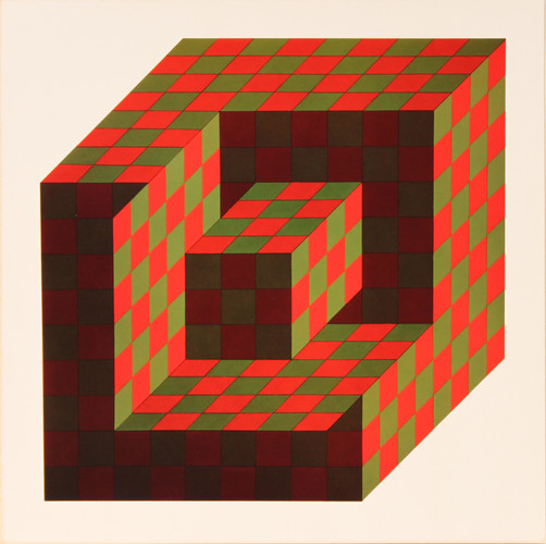Bidim, Album Hexagone, Vasarely