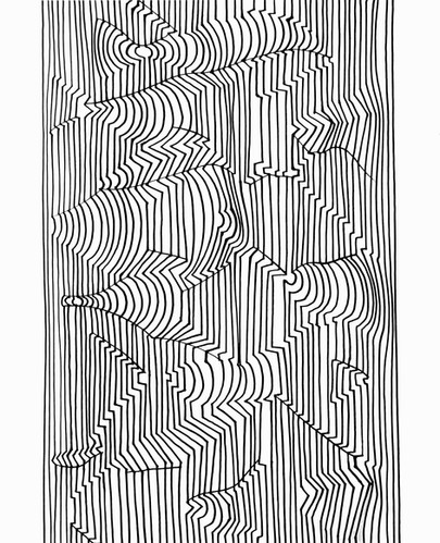 Naissances I, Album Ondulatoires, Vasarely