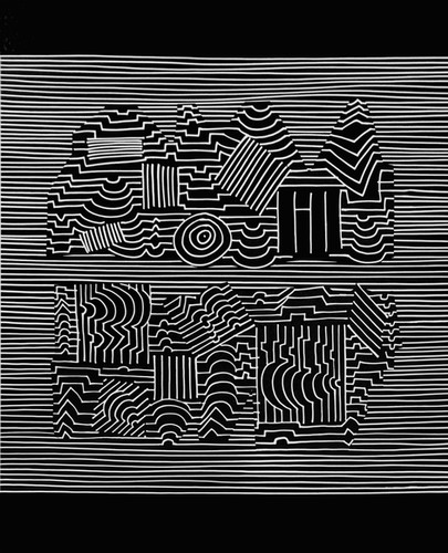 Naissances II, Album Ondulatoires, Vasarely