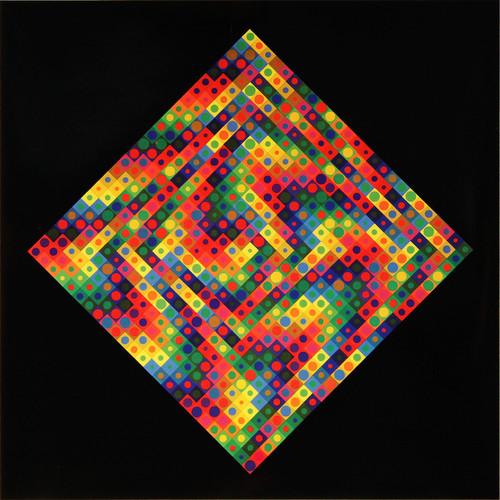 Album Folklore Planétaire, Victor Vasarely