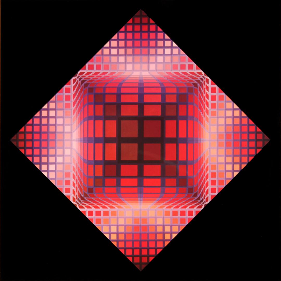 Dell II, Album Damier, Vasarely
