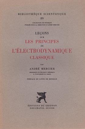 LES PRINCIPES DE L'ELECTRODYNAMIQUE CLASSIQUE