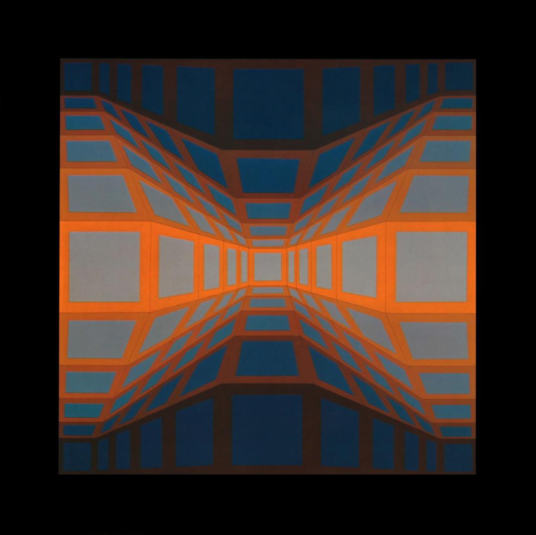 Kek eg II, Album Damier, Vasarely