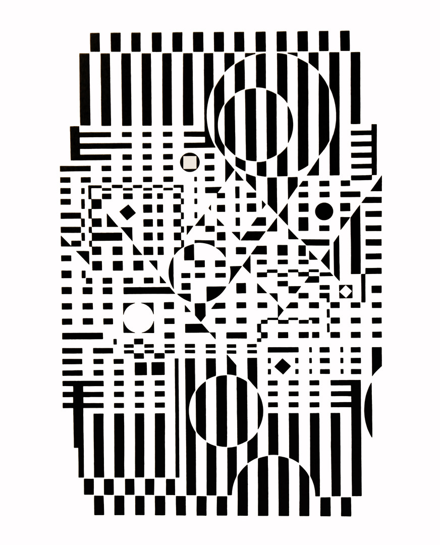 Ty neu, Album Croisées, Vasarely
