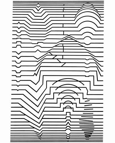 Ebi noor, Album Ondulatoires, Vasarely