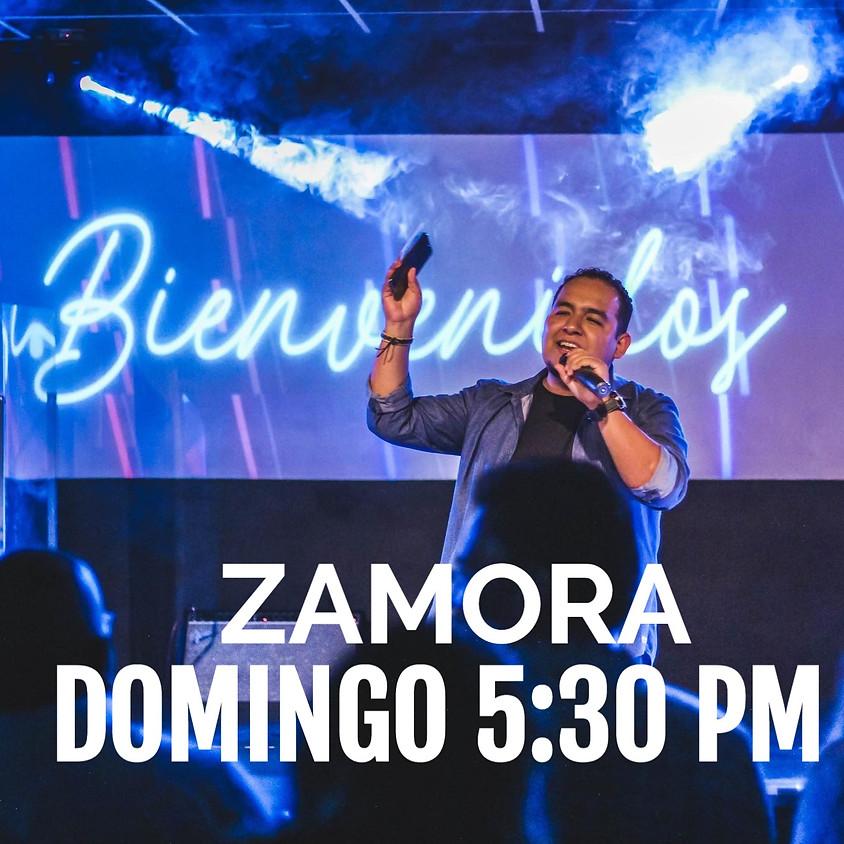 Reunión Zamora Domingo 5:30 pm