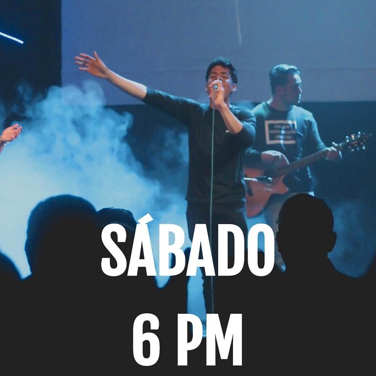 Reunión de Sábado a las 6 pm