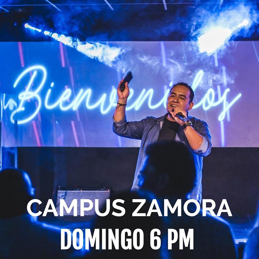 Campus Zamora Reunión 6pm 12 de Julio 2020