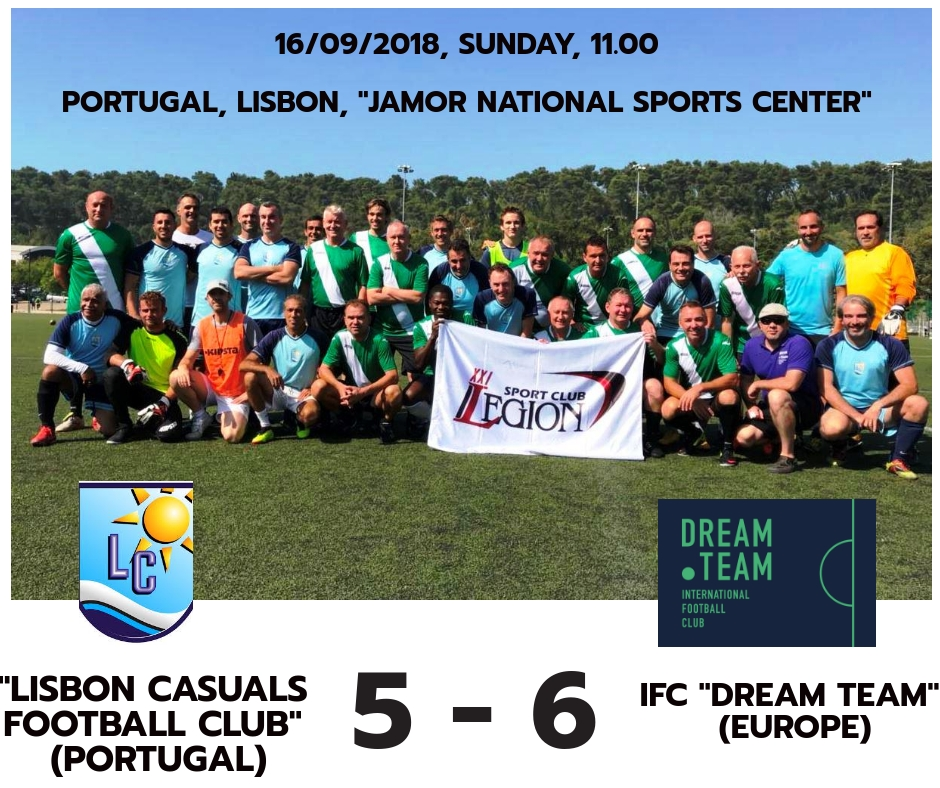 Lisbon Casuals v IFC Dream Team_16_09_18