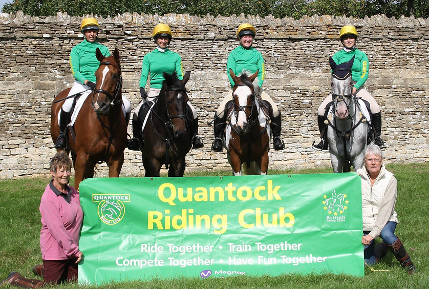 quantock riding club team