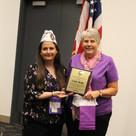 Martha Washington Award - Linda Bellis
