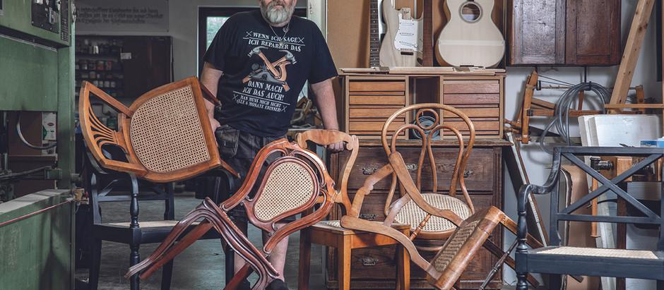Neues Leben für alte Stühle