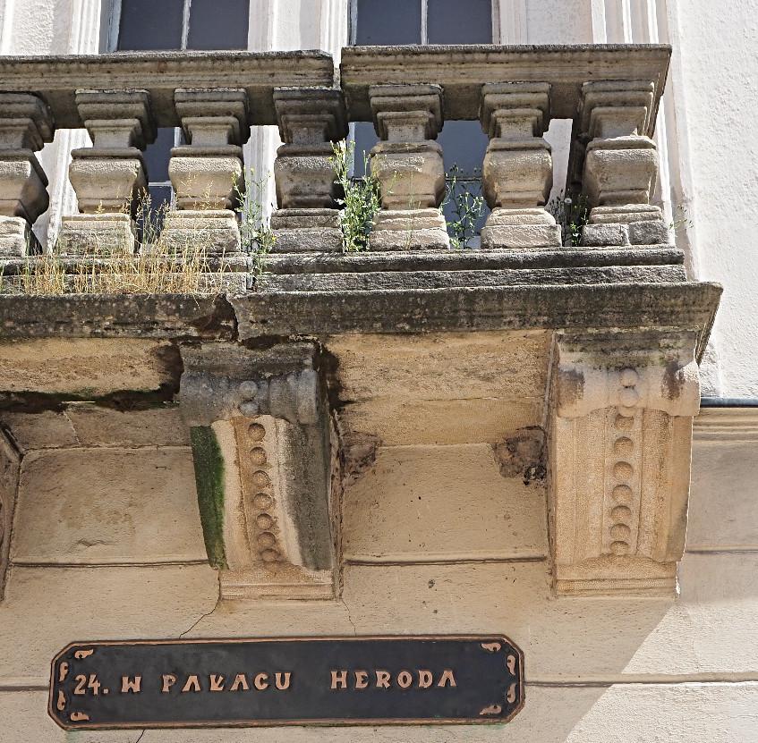 Herodův palác by chtěl vyspravit