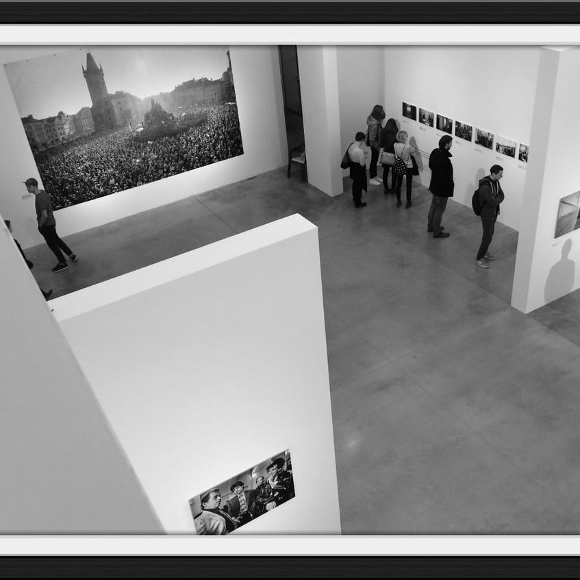 Fotografie Tomkiho Němce v DOXu