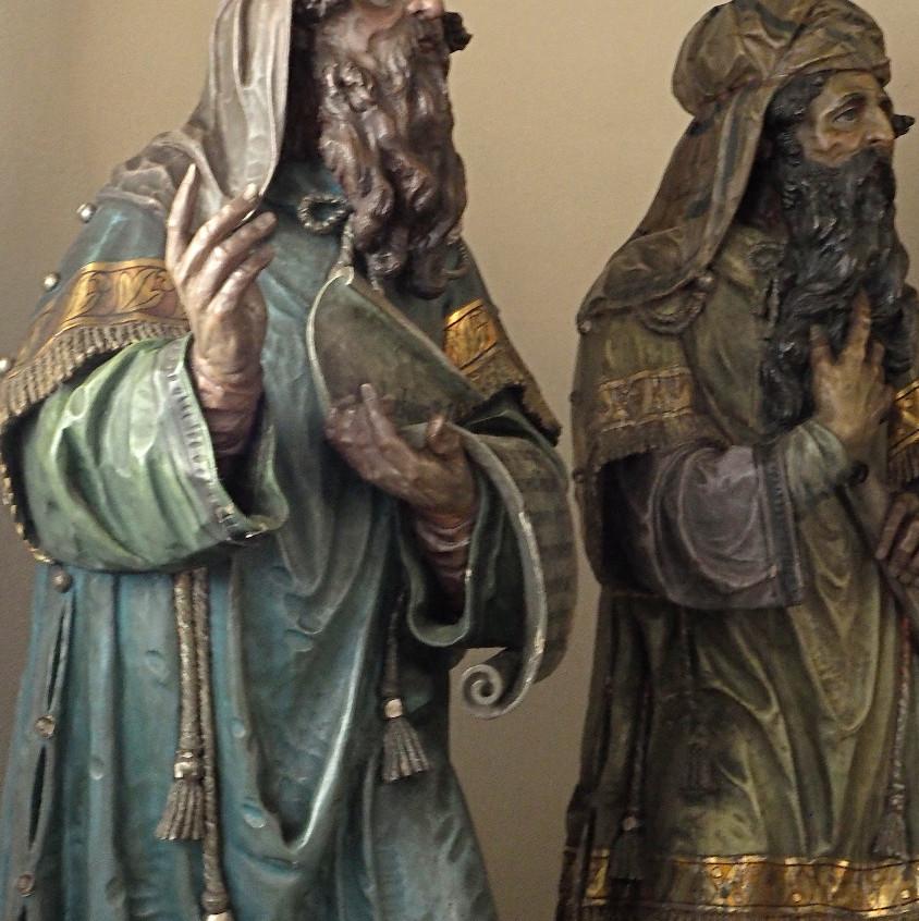 Svatí trpaslíci (učenci v chrámě)
