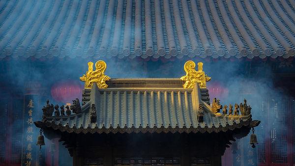 kinesiska Temple