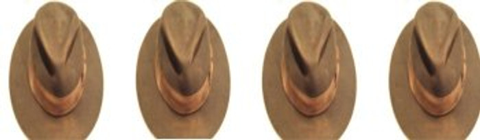 4 hats