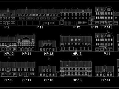 Identyfikacja Historyczna Śródmieścia - Rynek Miejski w Piszu
