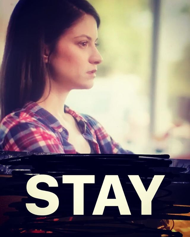 Still from set of 'Stay'