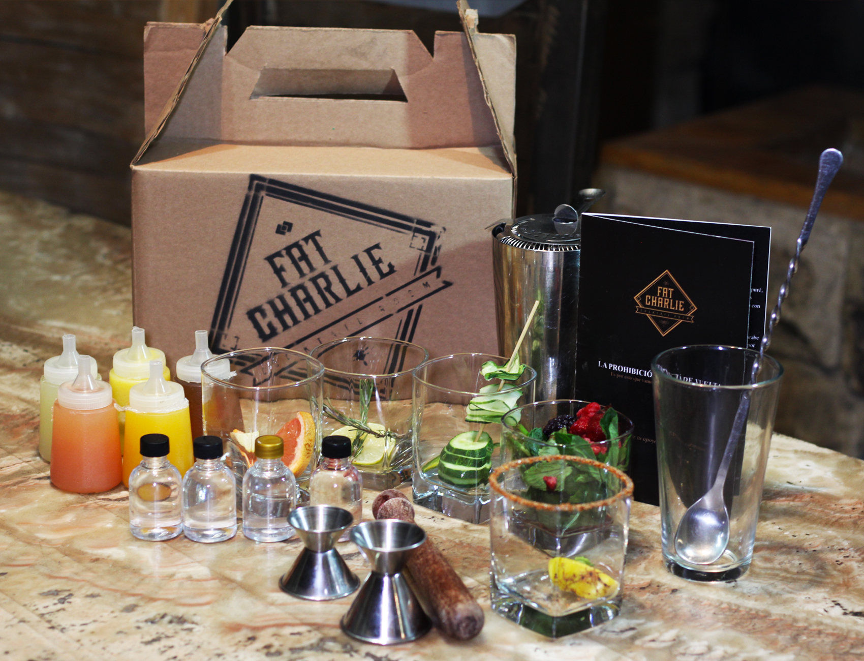 KIT DE BARTENDER
