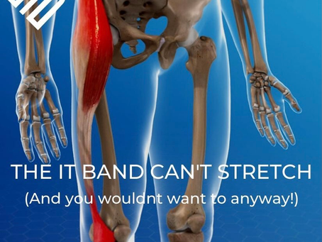 The iliotibial Band (ITB) – You can't stretch it! And you wouldn't want to anyway!