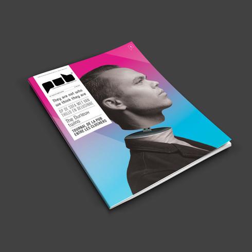 Millenials Magazine cover // Print creation