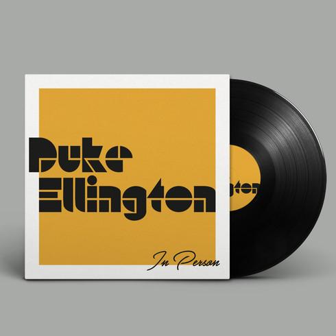 Duke Ellington // Vinyle design
