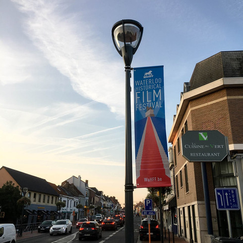 Waterloo Historical Film Festival // Design & Communication campaign