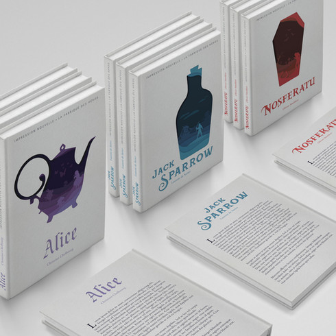 Book Cover // Print creations