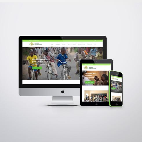 Education Sans Frontière // Responsive Website + Photography