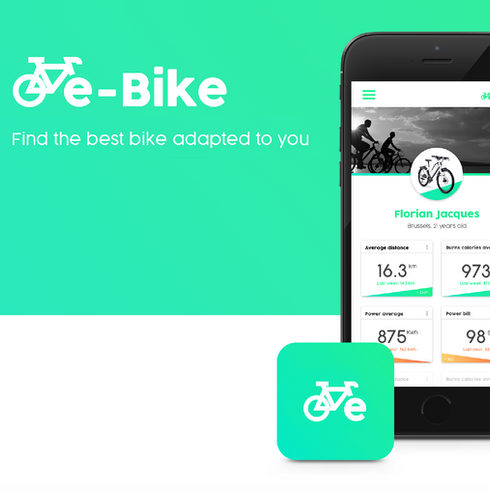 E-bike App // UX/UI Product Design