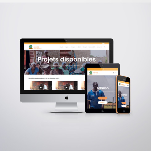 Adanso ONG // Responsive Website + Photography