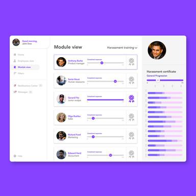 EasyLlama LMS // Head Of Design // UX, UI & Product Designer