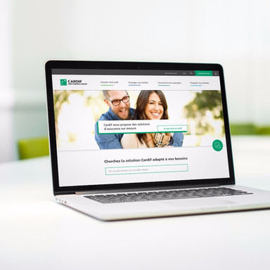 Cardif Website // Conception & Webdesign