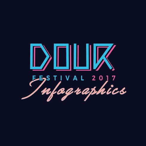 Dour Festival // Infographic design & concept