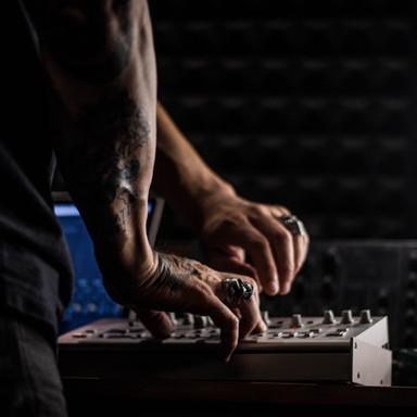 Badknife DJ-producer // Art Direction & Book Photography