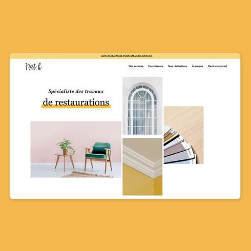 Nath Creation - Interior Design - Full digital communication