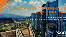 SKATT increases its international presence through a Collaboration Agreement with Andersen Global