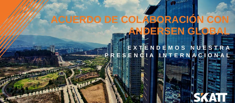 SKATT incrementa su presencia internacional a través de un acuerdo de colaboración con Andersen Glob
