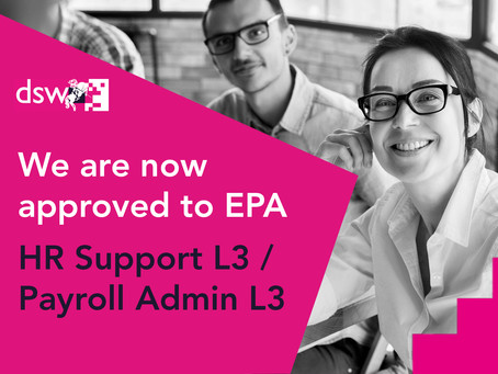 New Standards Approved - Payroll Admin and HR Support