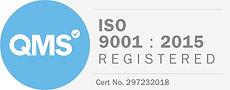QMS ISO registered