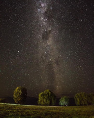 Noche estrellada en Marina Colbún