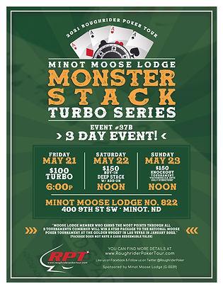 RPT Poker _Minot Moose Turbo Series Flye