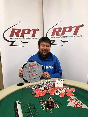 Winner | Roughrider Poker Tour