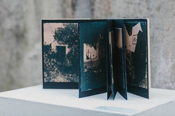 Artist Book  by Raquel Amat Parra  Photo Credit, Neal Campbell