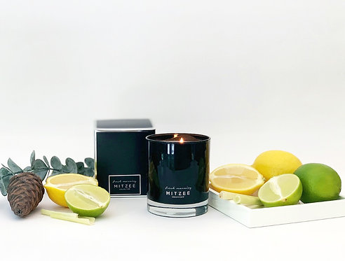 Fresh Morning - White Tea & Wisteria Fragranced Candle