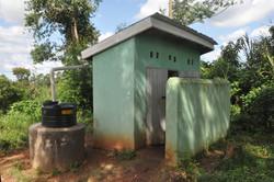 New toilet block