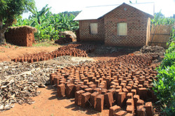 Sun-dried Bricks!