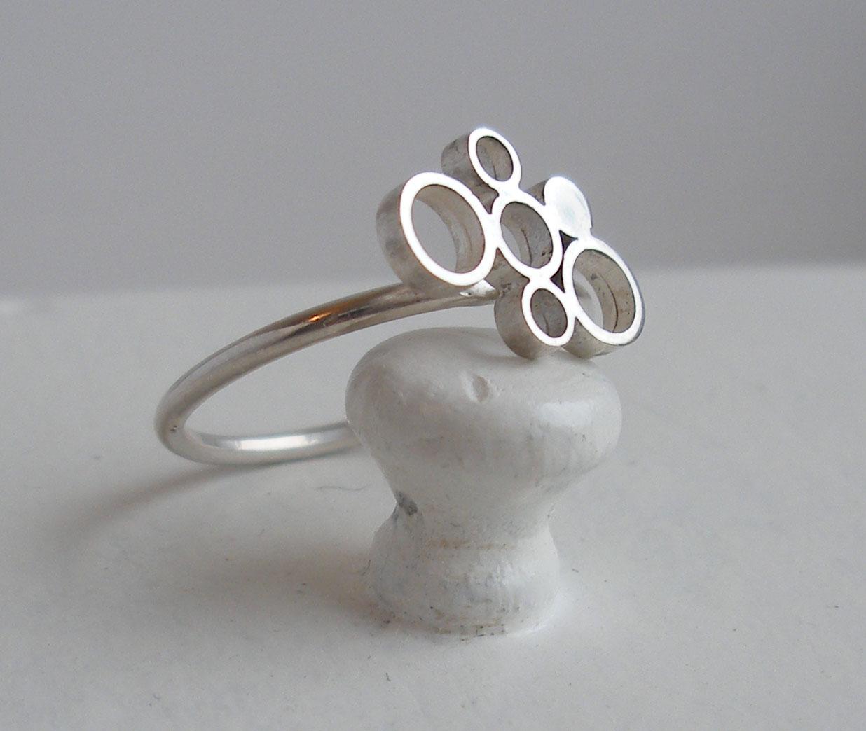 Ring - Sterling Silver Circles